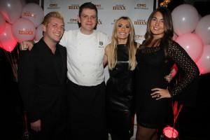 The ITM Core Team with Delmonico's Chef William