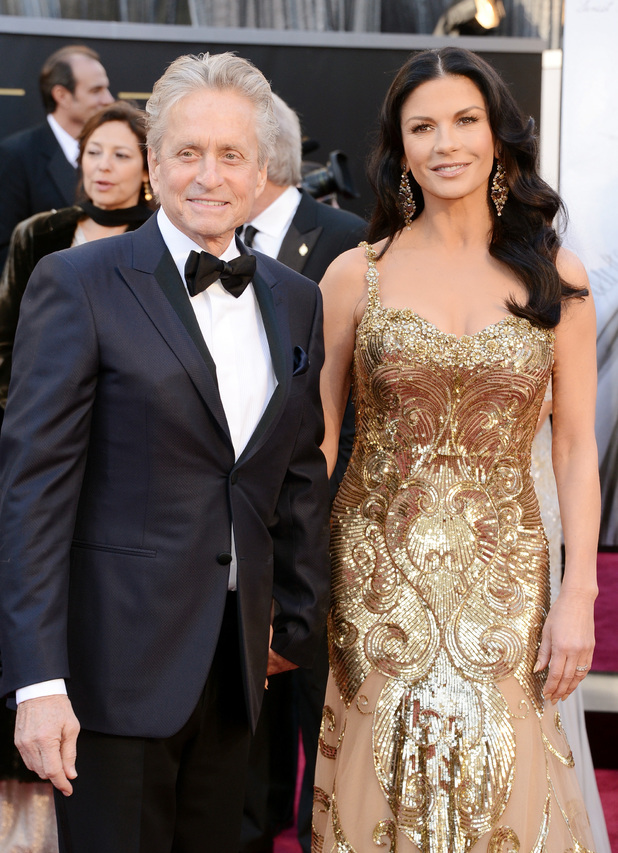 Michael Douglas and Catherine ZetaJones Relationship Going