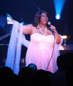 Aretha Franklin Performs at Ross School.