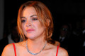 Lindsay Lohan attends a gala dinner and awards show at Hotel Mezzatorre